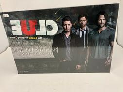 Supernatural Collector's Edition Clue Board Game-NEW,SEALED-