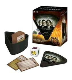 SUPERNATURAL JOIN THE HUNT TRIVIAL PURSUIT BOARD GAME USAOPO