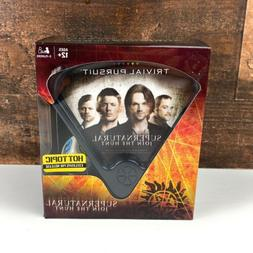 Supernatural Trivial Pursuit Board Game FREE SHIPPING Toys &