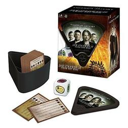 USAopoly Supernatural Trivial Pursuit Board Game Portable ,G