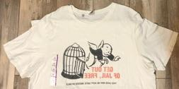 Junk Food T-shirt Mens Size XL Monopoly Board Game Get Out O