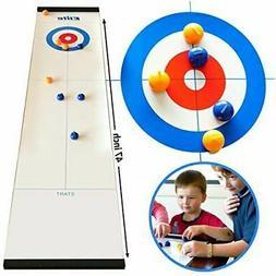Elite Sportz Tabletop Curling Game for Families. Adults vs K