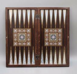 Magic Star Backgammon Turkish Premium Board Game Set The 19'