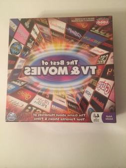 The Best Of TV And Movies Board Game NIB Spin Master