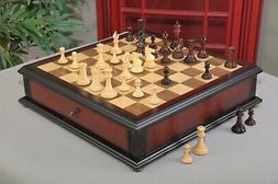 The Collector Series Library Chess set, Box, & Board Combina