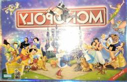 PARKER BROTHERS 'THE DISNEY EDITION' MONOPOLY Game 2001 New