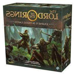 The Lord of the Rings Journeys in Middle Earth Board Game Se