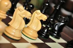 The Reykjavik II Series Chess Set, Box, & Board Combination