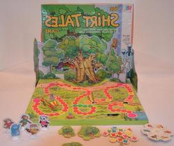 The Shirt Tales Board  Game #4329 Milton Bradley 1983 Vintag