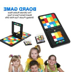 The Ultimate Rubiks Race Board Game Face to Face Strategy Pu