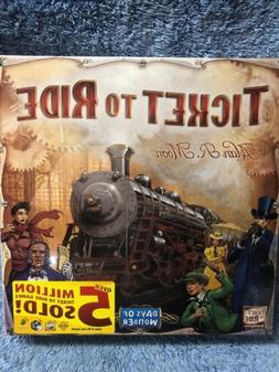 Ticket To Ride Days Of Wonder Alan R. Moon Train Adventure B