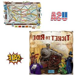 Ticket to Ride Board Game Cross-Country Train Adventure Days