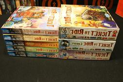 Ticket To Ride Board Game Lot - Map Collection 1 - 5, Europe