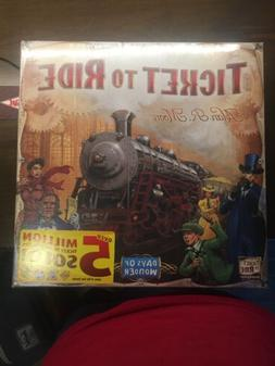 Days of Wonder Ticket To Ride by Alan R. Moon Train Adventur