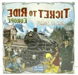 Days of Wonder : Ticket to Ride : Europe - Board Game - New