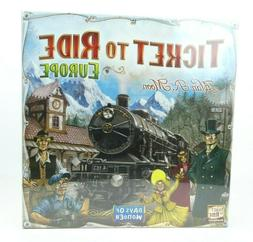 Ticket To Ride Europe - Days of Wonder Strategy Board Game