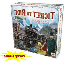 Ticket to Ride -Europe-Train Adventure Board Game Party Home
