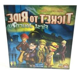 Ticket to Ride First Journey Board Game Factory Sealed  Days
