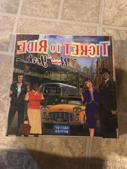 Ticket to Ride New York Board Game SEALED NEW Days of Wonder