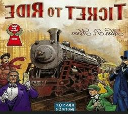 Days of Wonder Ticket to Ride Train Adventure Board Card Fam