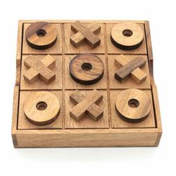 Bsiri Tictactoe Classic Board Games Noughts And Crosses Fami