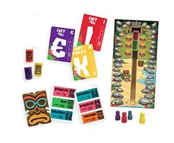 Gamewright Tiki Topple - The Tactical Board Game of Totem Do