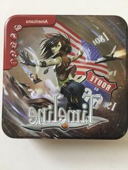 Timeline: Americana Board Game. Asmodee. Collectible Tin. Ed