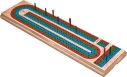 Mainstreet Classics Traditional Wooden Cribbage Board Game S