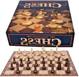 Traditions Chess Set, 2 Player Strategic Game  Board - For C