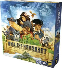 Treasure Island Board Game by Asmodee ASMTRI01 2-5play, 10+,