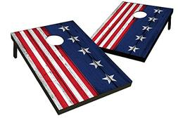 Wild Sports TT-SAS-02 Stars & Stripes Cornhole Bag Toss Game