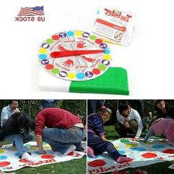 Twister Game Funny Kids Family Body Twister Moves Mat Board