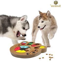 Unique Shuffle Puzzle Smart Toy for Puppies - Improve Concen
