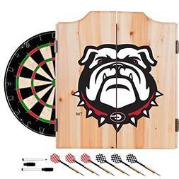 Trademark Gameroom University of Georgia Dart Cabinet Set
