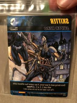UP YOUR GAME! DC Deck Building SKITTER PROMO Card Board Game