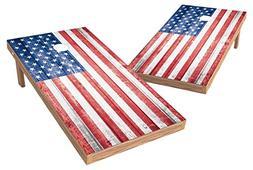 PROLINE USA Flag Cornhole Set - Retro Design