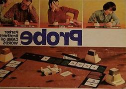 """Vintage 1974 Family Game """"Probe"""" Parker Brothers Board Game"""