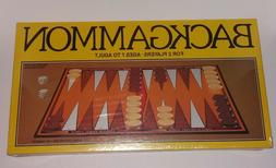Vintage 1981 WHITMAN BACKGAMMON BOARD GAME 4832 Factory Seal