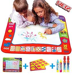 Water drawing mat painting - Learning doodle board toy - Ba
