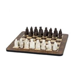 WE Games Isle of Lewis Antiquity Chess Set - Polystone Piece