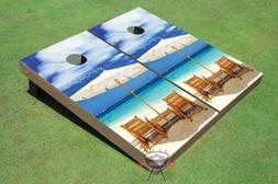 Wonderful Beach Custom Cornhole Boards