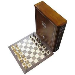 Wood Book Case Classic Board Game Set Collection - Volume 1