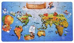 Wooden Jigsaw Puzzles - Around World Hartmaze HM-03  Online