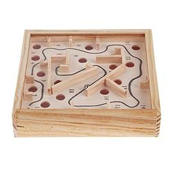 Wooden Puzzle Toy Toddler Kids Balance Board Game Toy Wooden