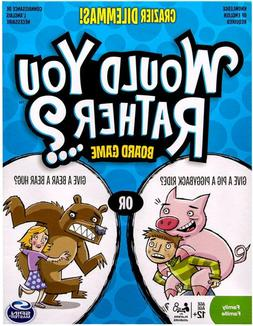 Spin Master Games - Would You Rather - Crazier Dilemmas Boar