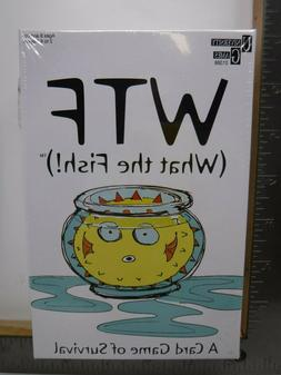 UNIVERSITY GAMES WTF WHAT THE FISH CARD GAME 2+ PLAYERS SEAL