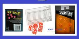 Yahtzee Neon Pop Board Game Strategy Game 8+ Hasbro Gaming
