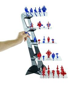 Yavoch! Three-Dimensional Futuristic Chess Game, Blue & Red