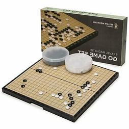 Large Magnetic 19x19 Go Game Set Board  with Single Convex S